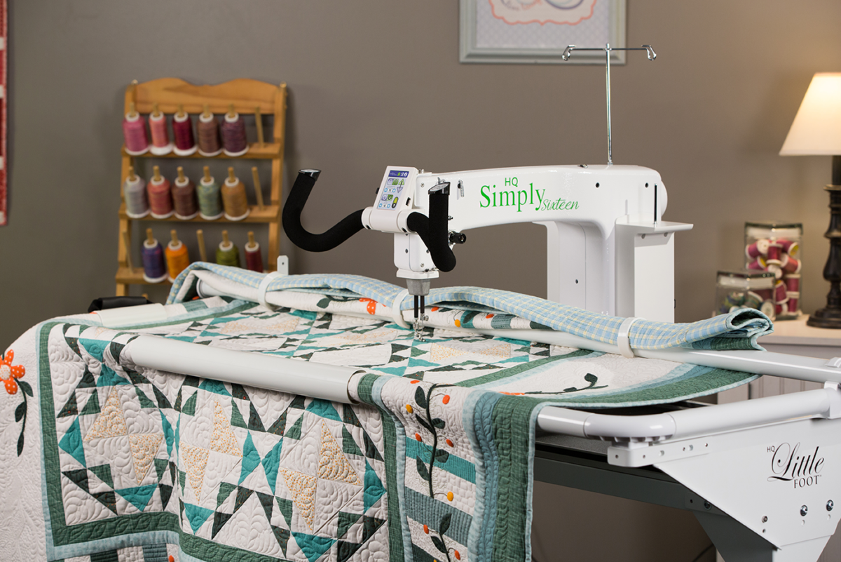 Handi Quilter simply in studio