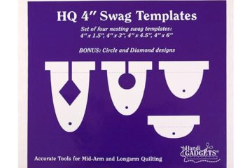 4″ Swag Template Set
