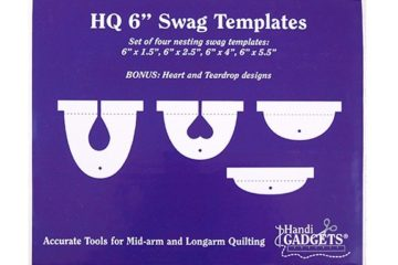 6″ Swag Template Set
