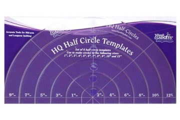 Half Circle Templates