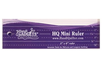 Mini Ruler 2″ x 6″