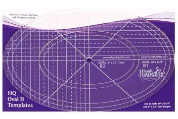 Oval B 10″, 6″