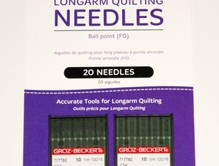 Longarm Ball Point Needles (2 x 10 packs)