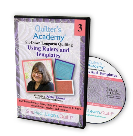 DVD Debby Brown (Sweet 16) Vol 3 – Using Rulers and Templates