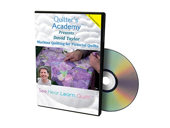 HQ DVD Machine Pictorial Quilts – David Taylor (Sweet 16)