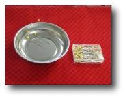 Handy Helper Magnetic Pin Bowl with Bonus Pins