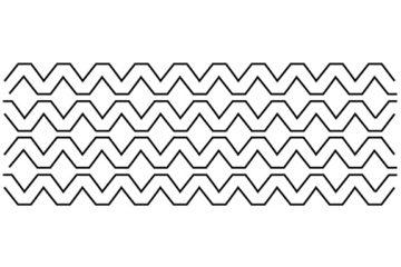 Aztec 10″ x 24″ – Groovy Board