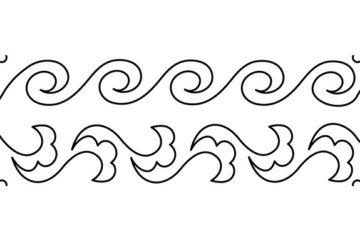 Groovy Board- Bloom n Curls 10″ x 24″