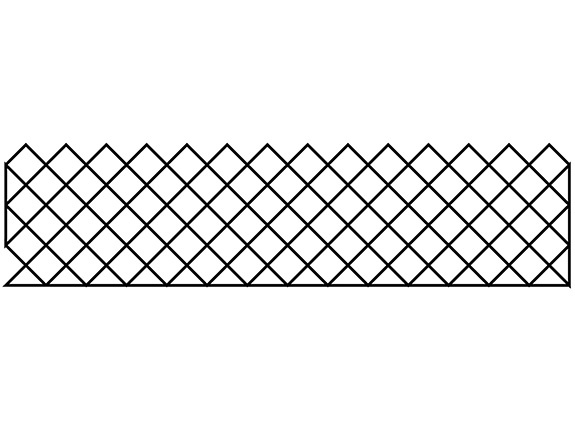 Groovy Board – Crosshatching 10″ x 24″