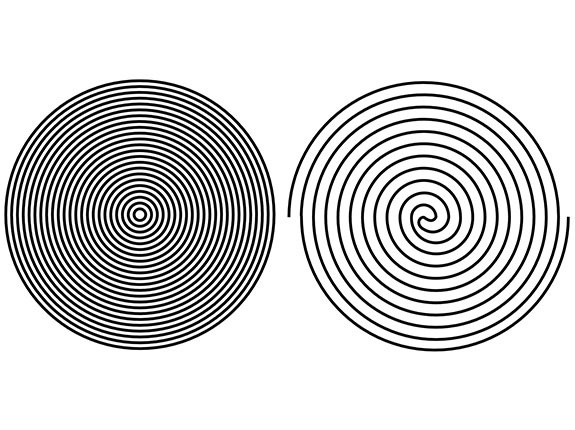 Groovy Board – Dueling Circles 13″ x 24″