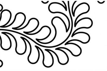 Groovy Board – Feathers Corner 10″