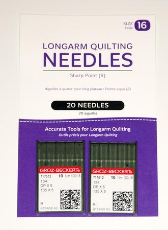 Longarm Sharp Needles (2 x 10packs)