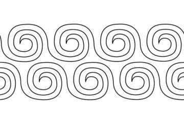 Swirls 10″ x 24″ – Groovy Board