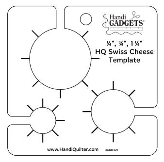 ROM 1 – Swiss Cheese Ruler