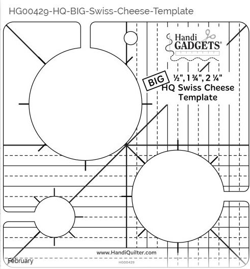 ROM 2 – Big Swiss Cheese Ruler