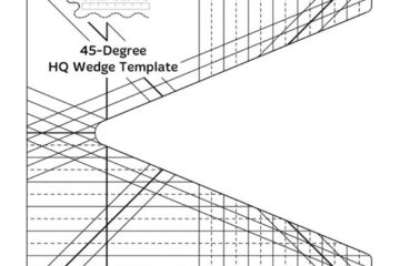 ROM 2 – 45 Degree Wedge Ruler