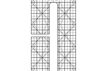 ROM 3 – 1″ Line Grid