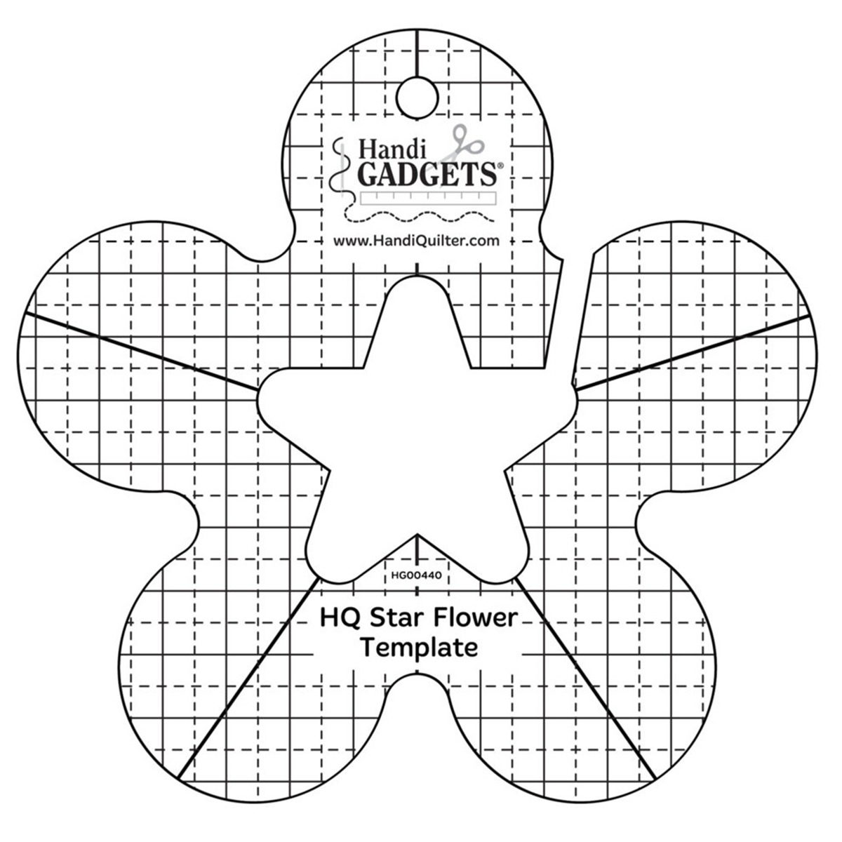 star-flower-template