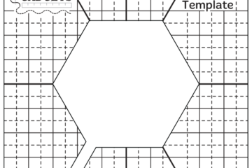 HQ Hexie 1 1/2″ Template