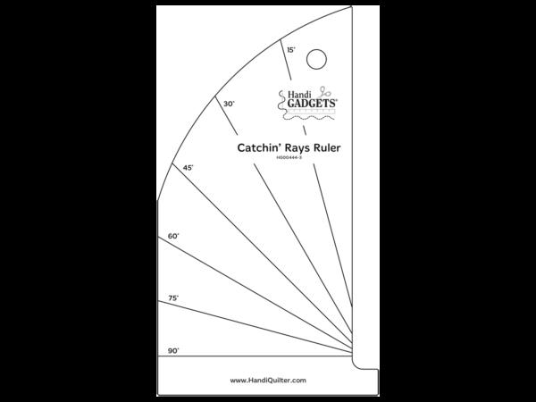 Catchin' Rays Ruler